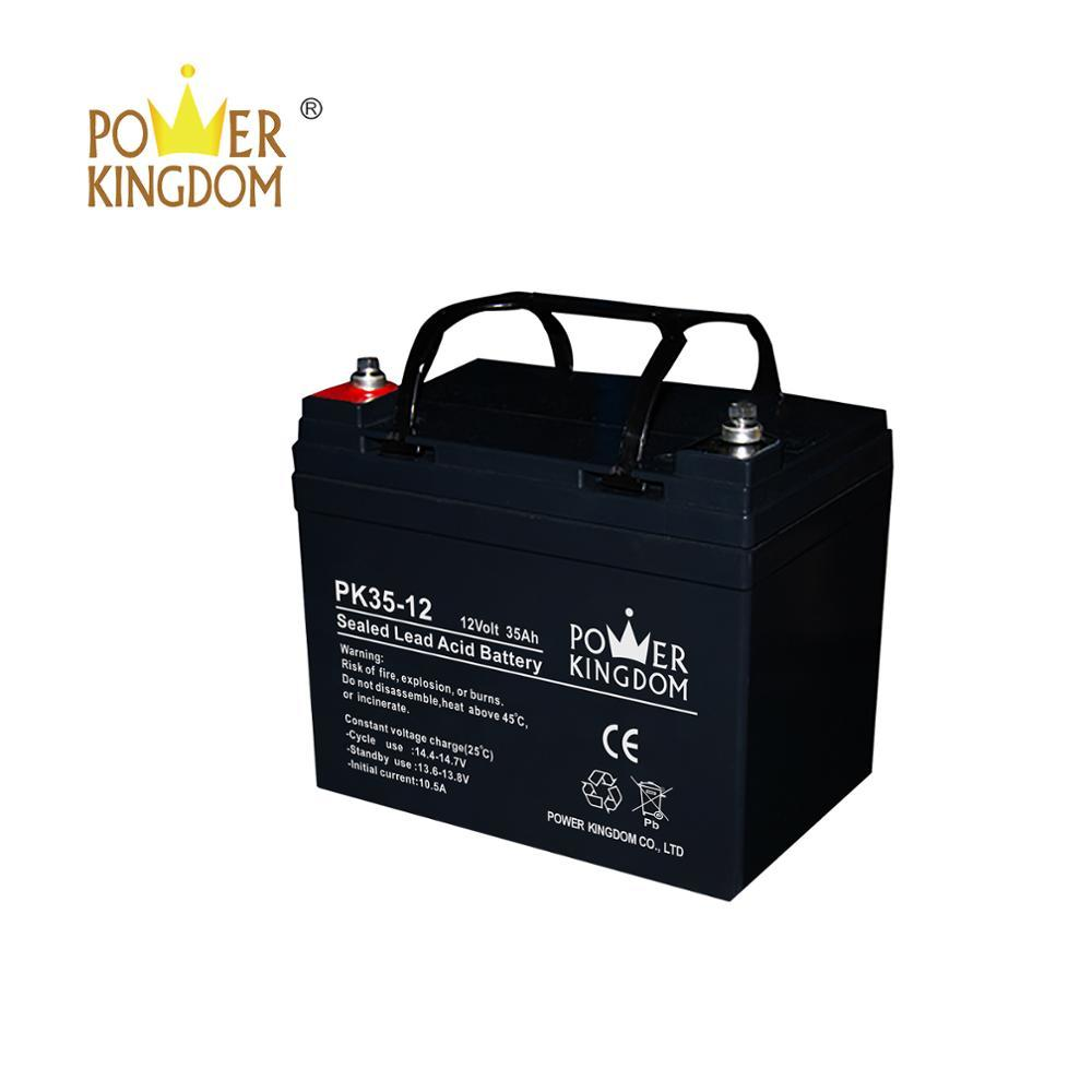 12V35AH lead acid battery rechargeable battery