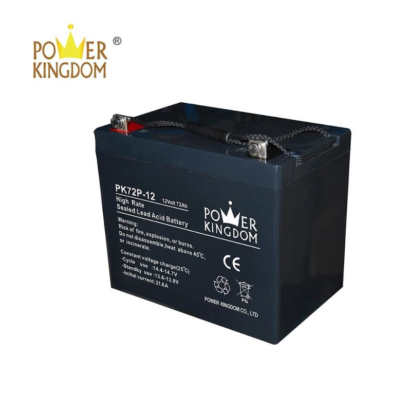 12v 72ah high rate batteries for high power discharge equipment