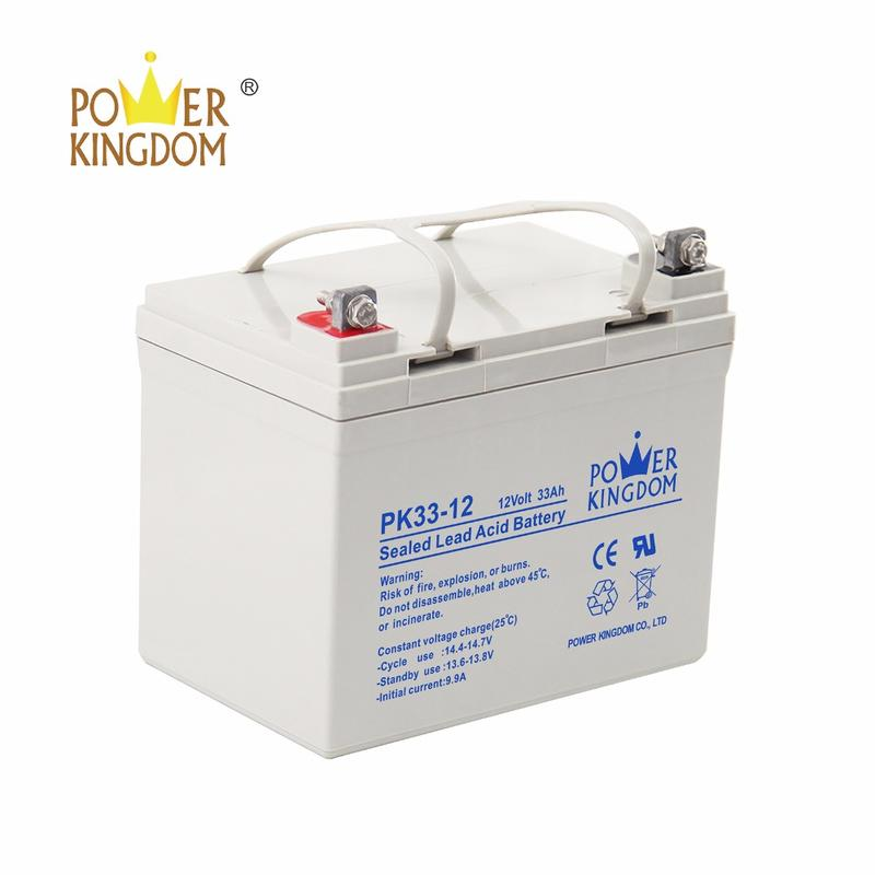 12V 33Ah Sealed Lead Acid Battery PK33-12