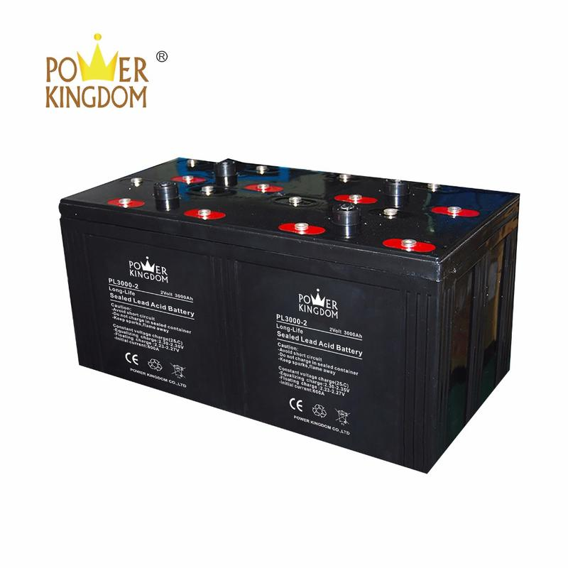 Good Quality Solar Battery 2V 3000 Ah Solar Street Light Battery 3000Ah