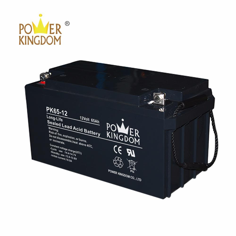 Solar Battery 12v 65 ah deep cycle battery for Solar Street Lights Solar Home System