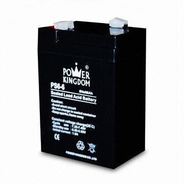 6V6AH 6V small battery agm battery for emgerency lighting system