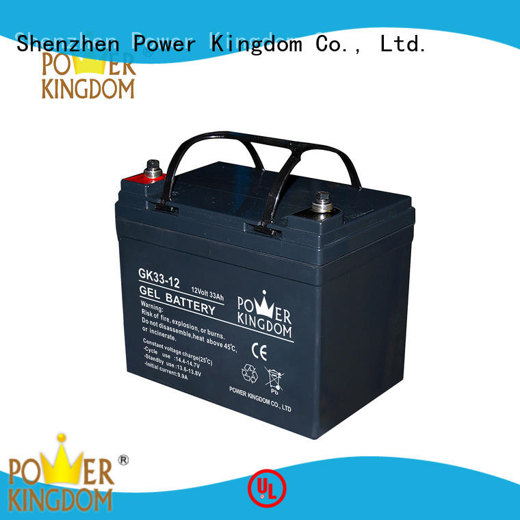 Power Kingdom higher specific energy rechargeable sealed lead acid battery inquire now wind power system