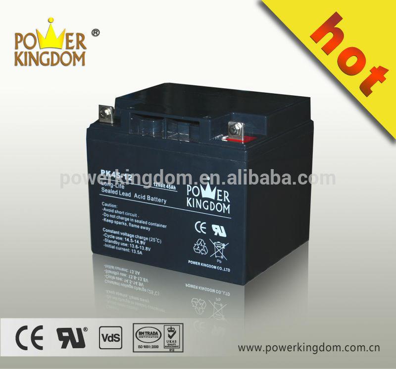 12v 45ah lead acid ups inverter battery