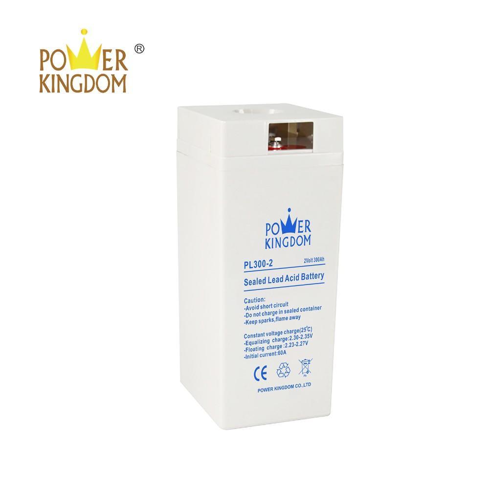 2v 300ah VRLA SLA agm gel deep cycle battery for telecom railway solar power storage inverter system