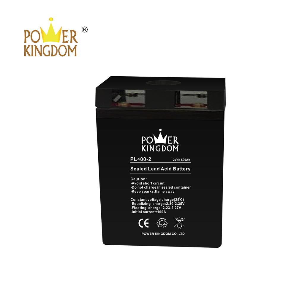 Power Kingdom 2v 400ah UPS lead acid battery