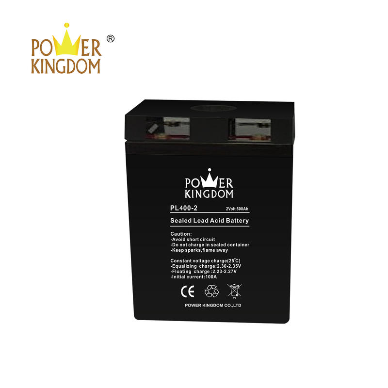 Power Kingdom 2v 400ah UPS lead acid battery