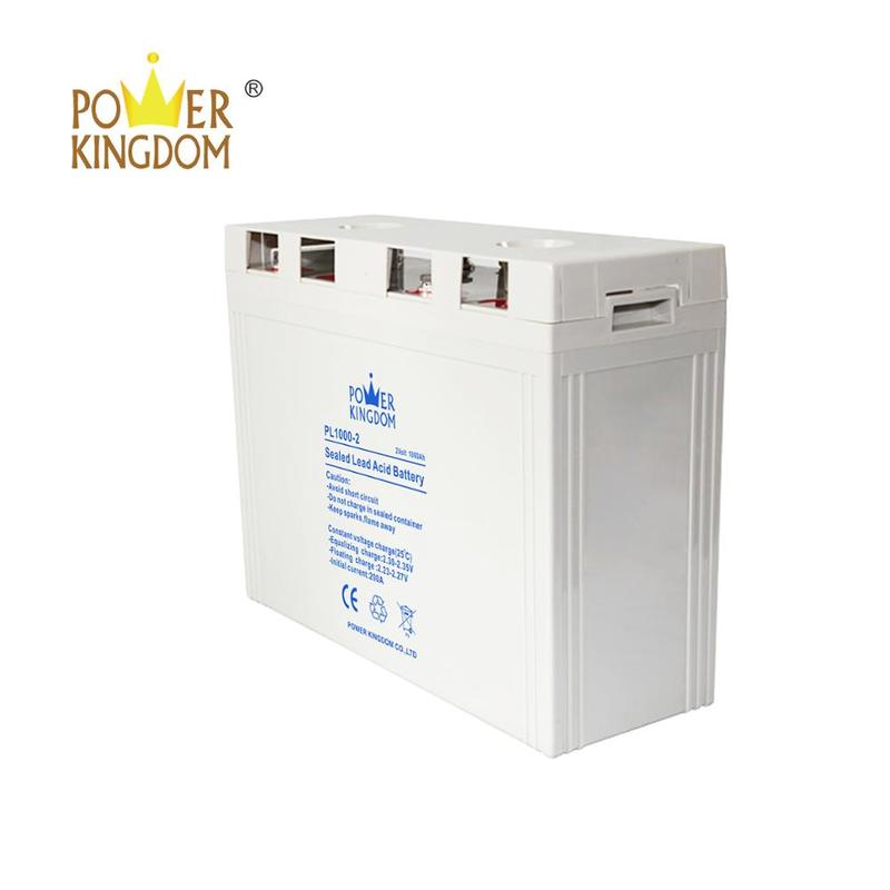 Rechargeable lead acid batterysolar power 2v 1000ah telecom battery