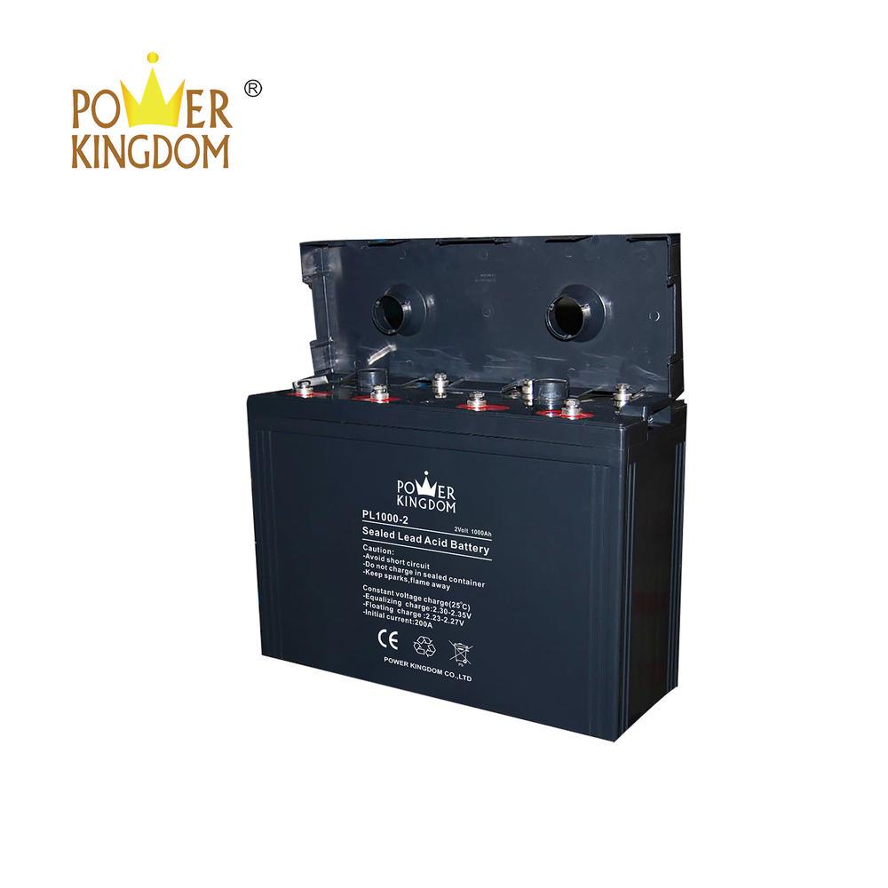 Free maintenance type and telecom equipment usage 2v 1000ah battery