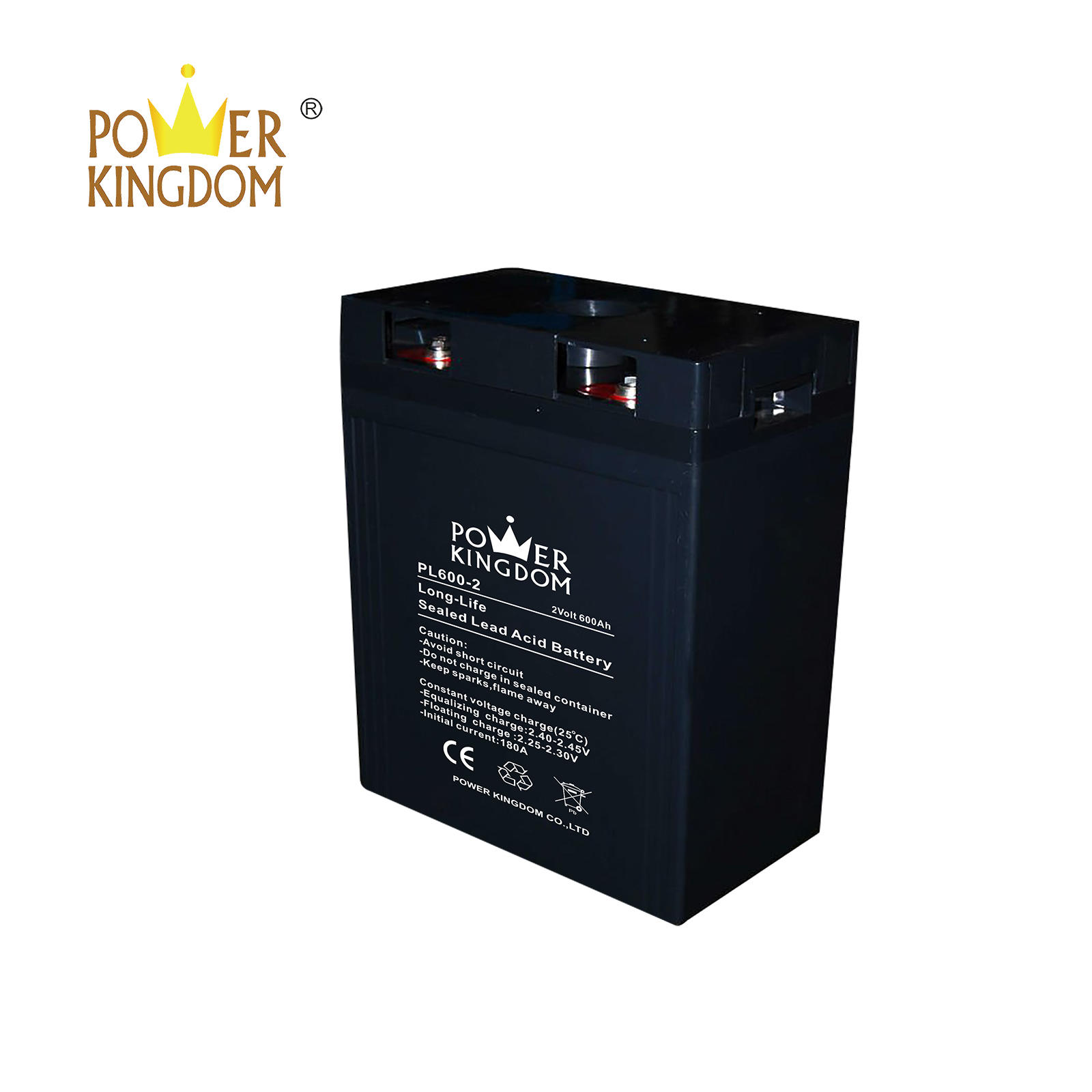 battery manufacturer in China 2v 600ah sealed lead acid battery