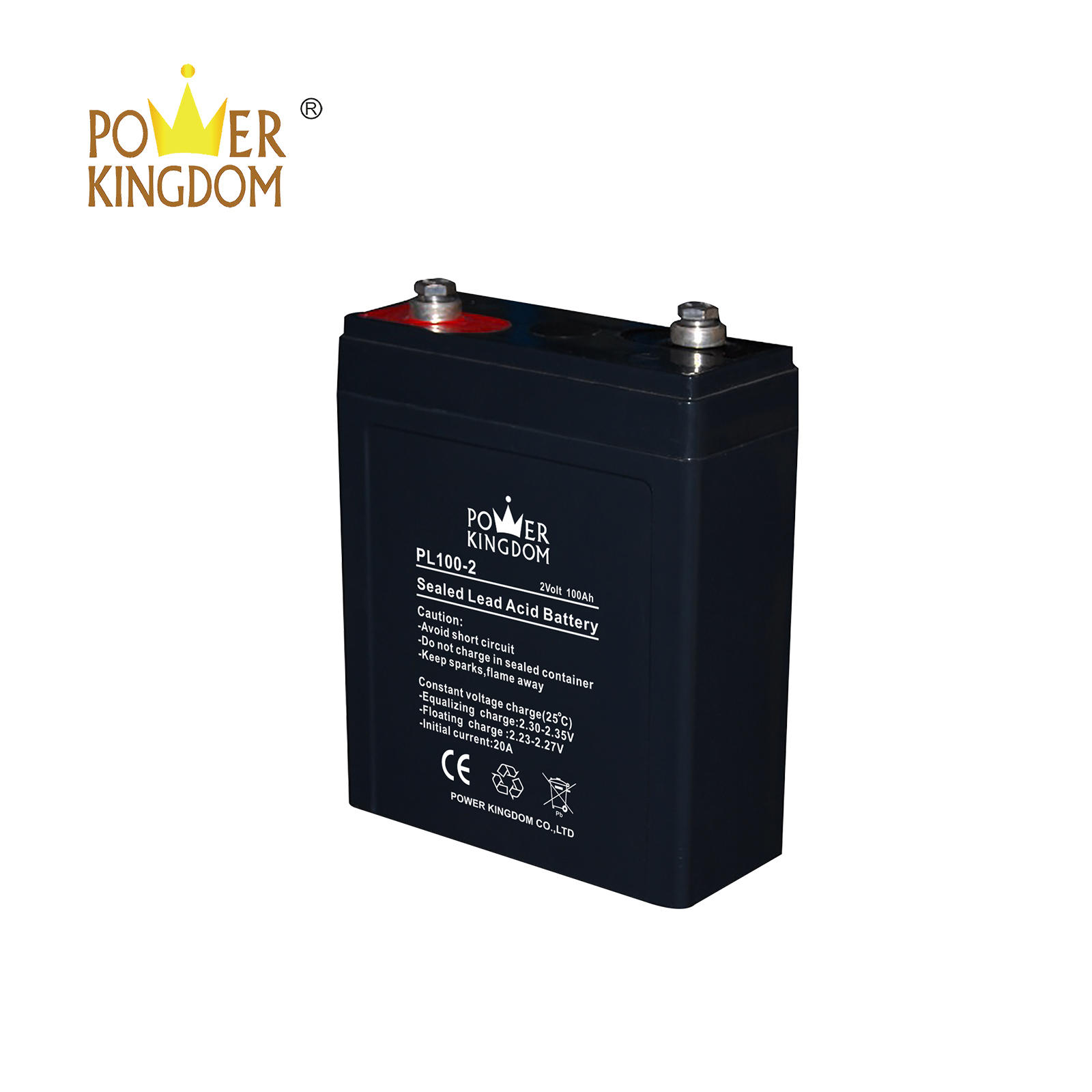 wholesale 2v 100ah sealed rechargeable lead acid battery