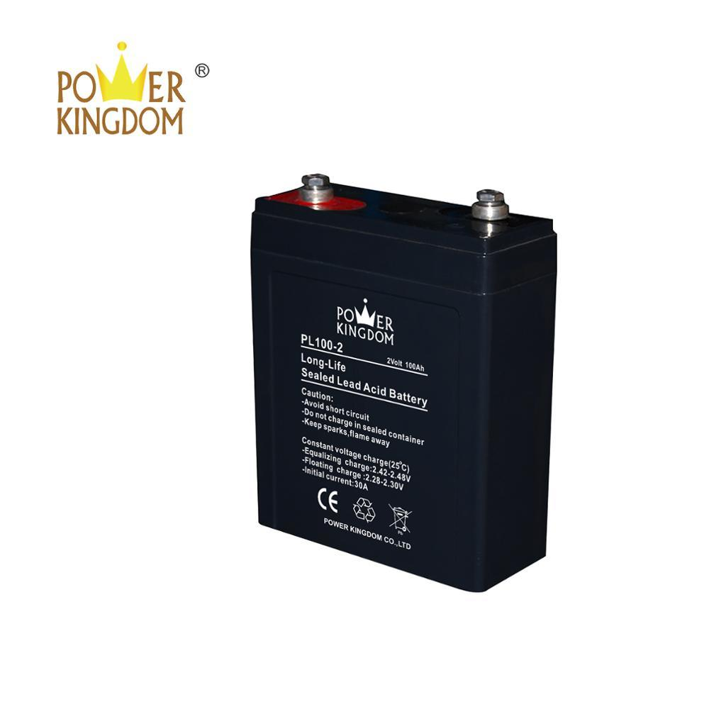 High quality Telephone switching system 2v100ah deep cycle AGM VRLA Battery