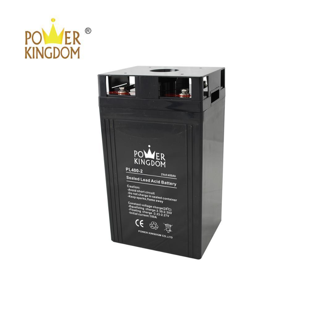 2V 400Ah Sealed Lead Acid Rechargeable Battery