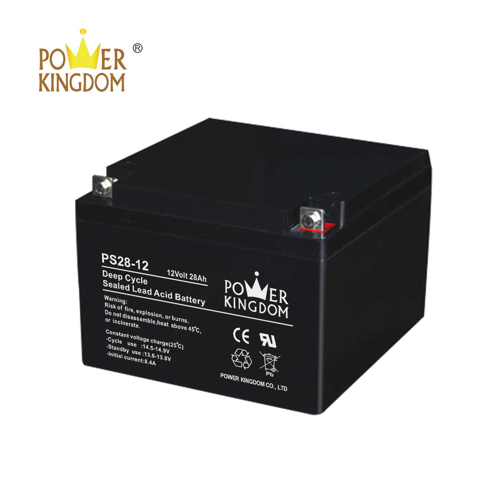 12v 28ah vrla agm deep cycle gel battery for UPS wheelchair alarm security solar system