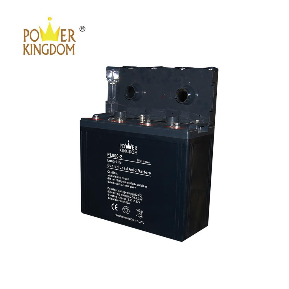 3 years warranty fast delivery 2V 800Ah Rechargeable gel battery for project