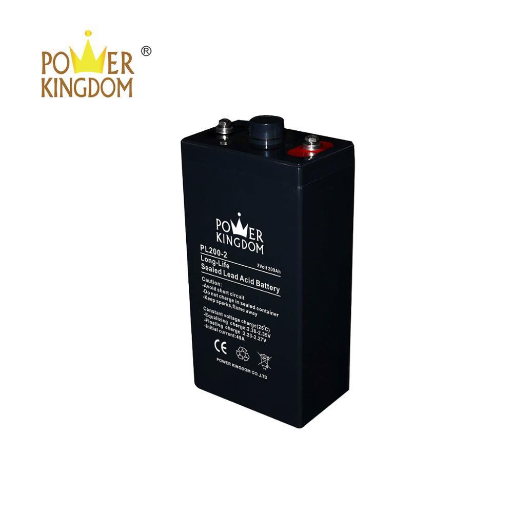 2 volt 200ah lead acid batteries for telecommunication