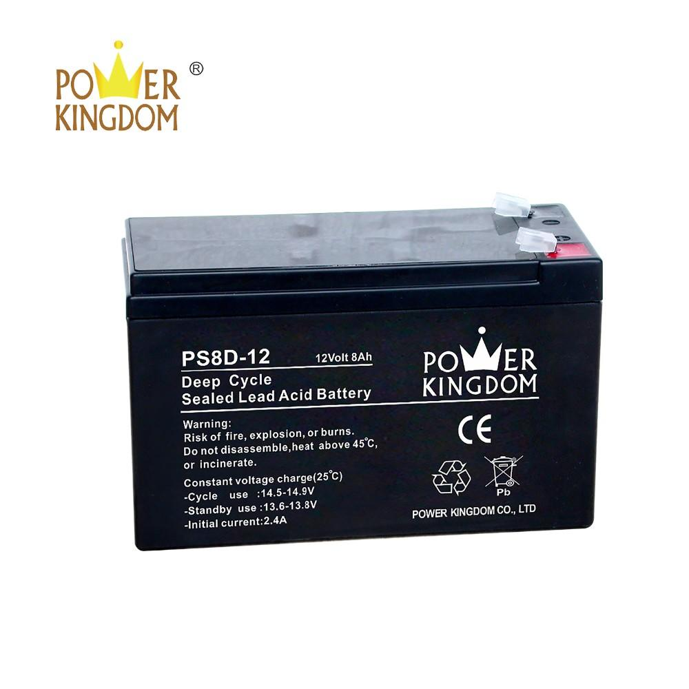 12v 8ah high rate deep cycle agm SLA battery for UPS alarm security system