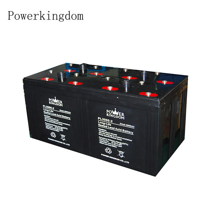2v3000ah solar panels battery instead of 12v lead acid battery for Telcome System