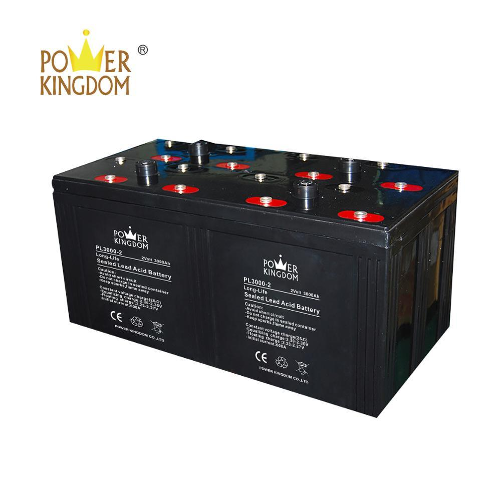 2v 3000ah solar panel rechargeable battery