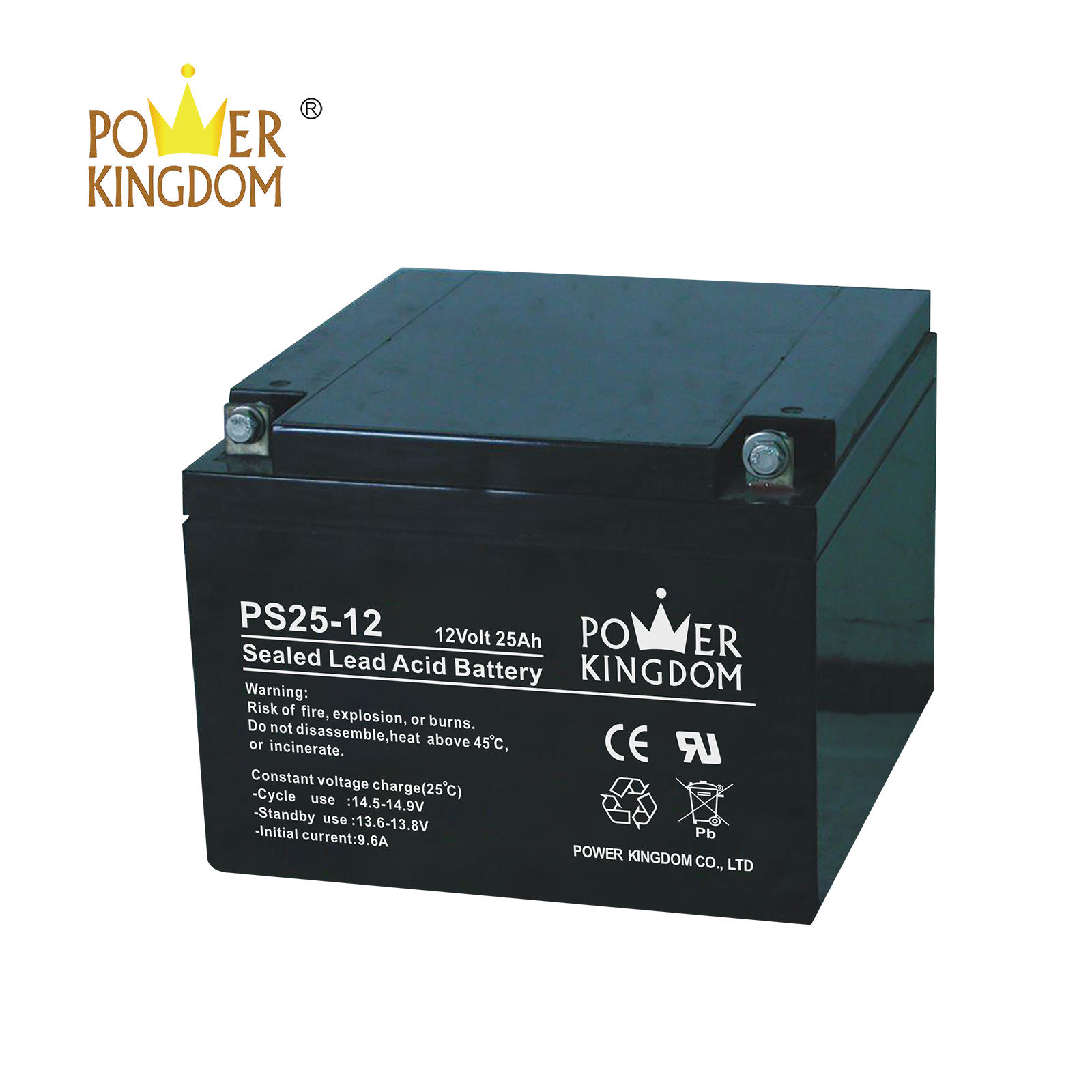 Power Kingdom lead acid battery voltage chart factory wind power system