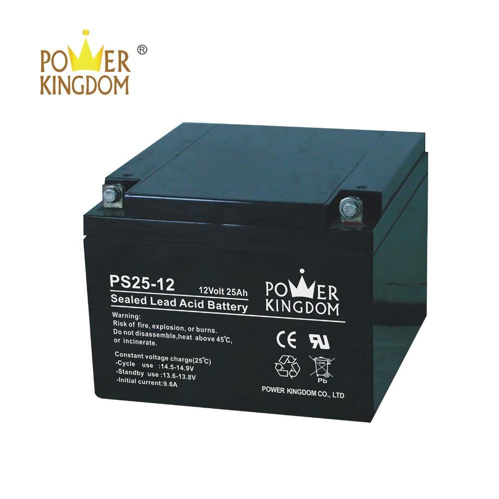 Super quality deep cycle rechargeable VRLA SLA gel battery 12V 25ah for UPS solar energy system