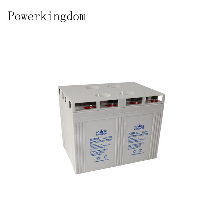 supply high power 60w solar street light battery 2v 2000ah good price battery