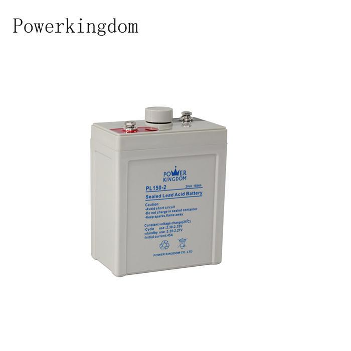 solar batteries 12v 2V 150ah for wind power generation for UPS