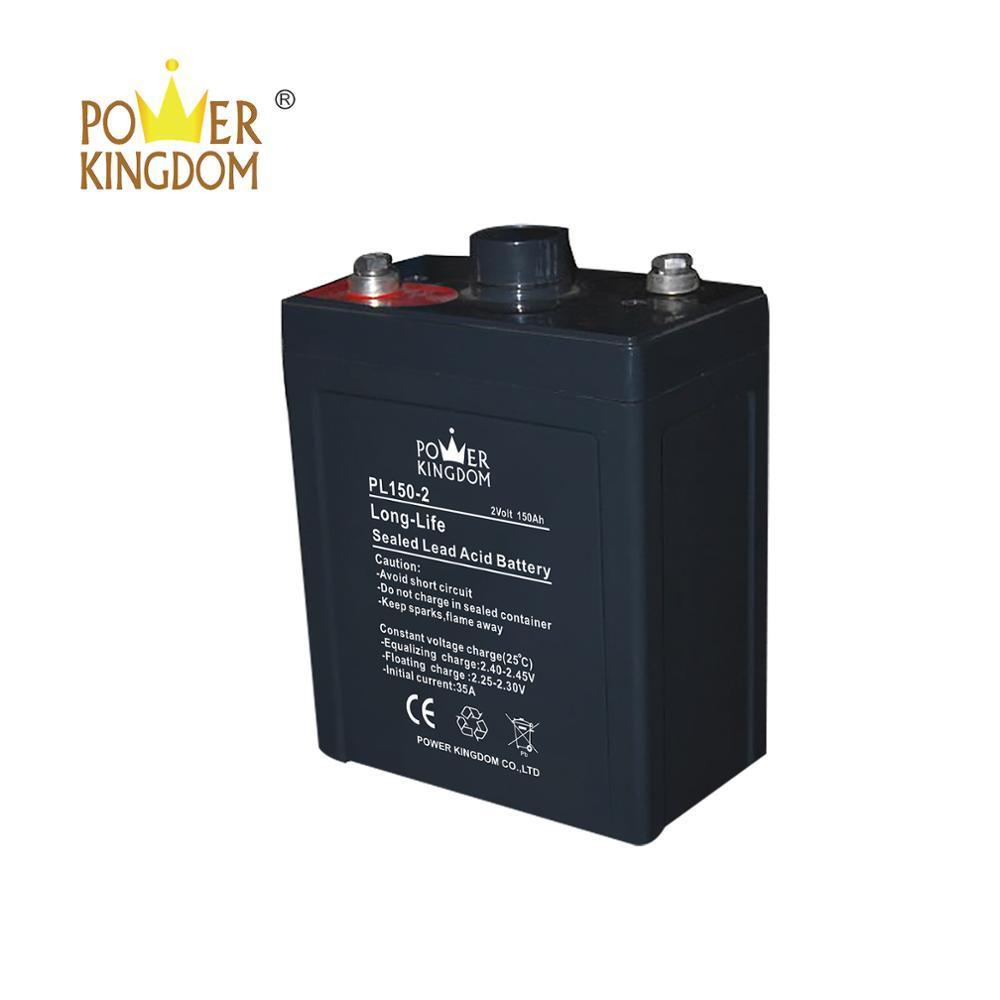 Power Kingdom battery Maintenance Free Lead Acid AGM Deep Cycle 2v 150ah Battery