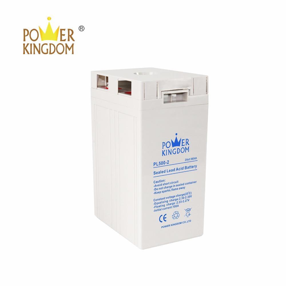 2V 500Ah Lead Acid Battery PL500-2 Rechargeable Battery