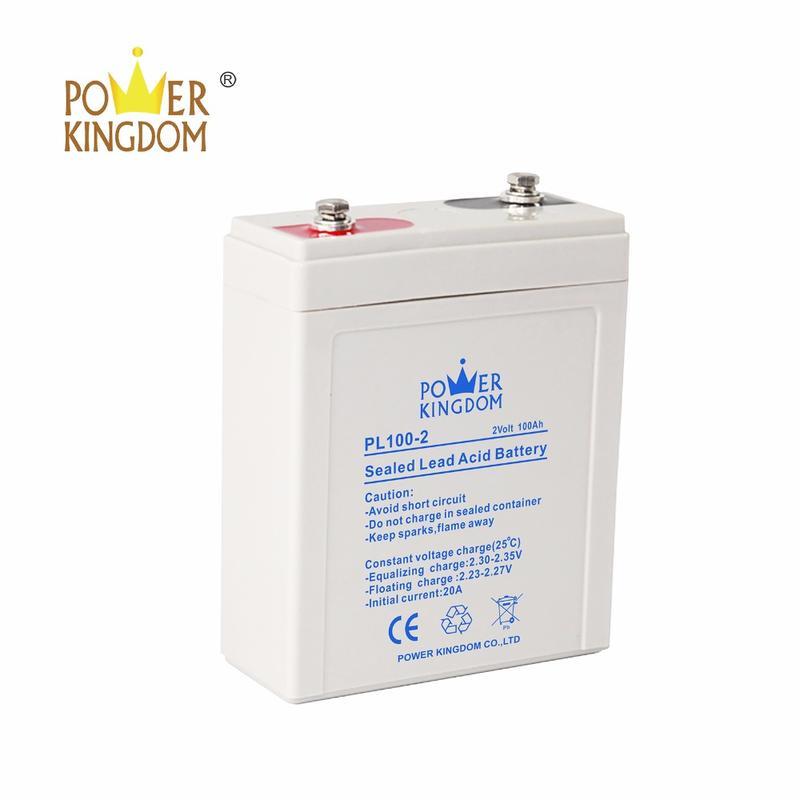 2v 100ah Sealed Rechargeable Lead Acid Battery Valve Regulated Lead Acid