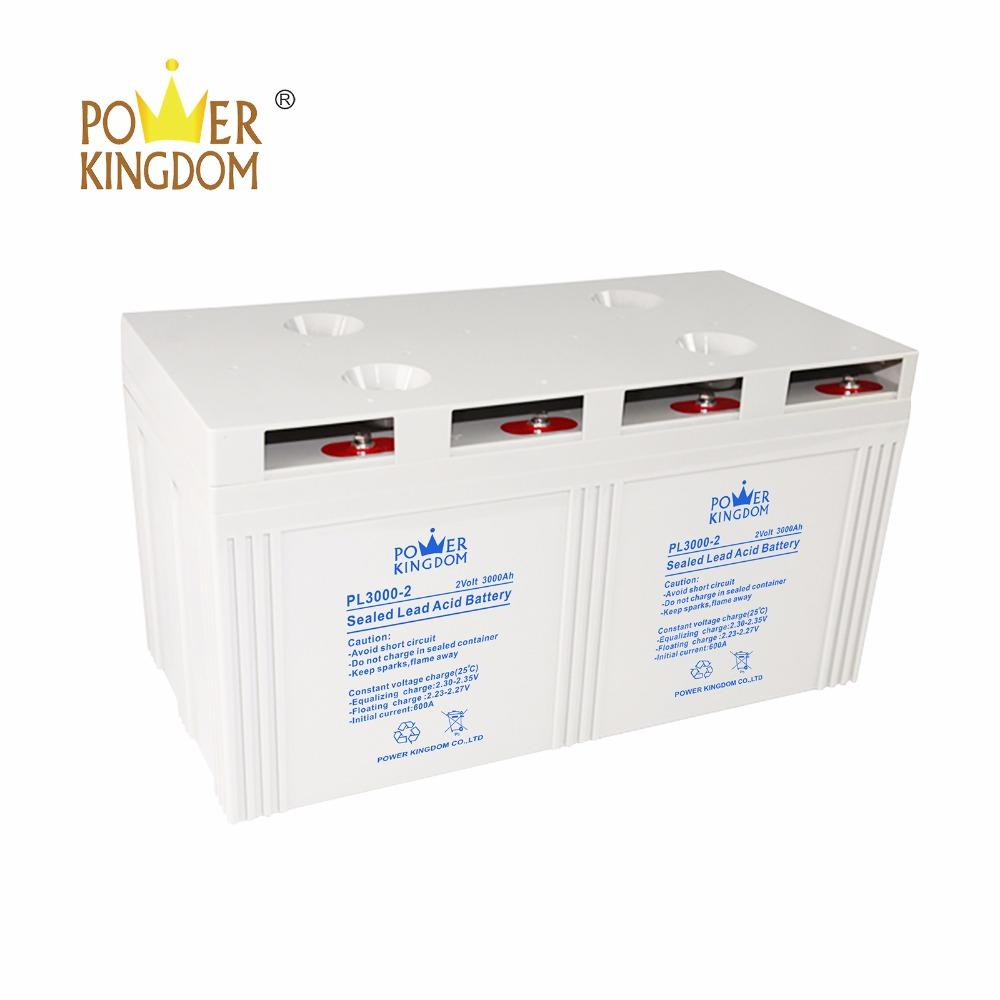 AGM 2v3000ah deep cycle rechargeable gel battery for PV or Solar system