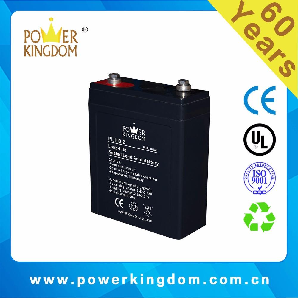 rechargeable 2 volt 100ah lead acid batteries for electric toy car