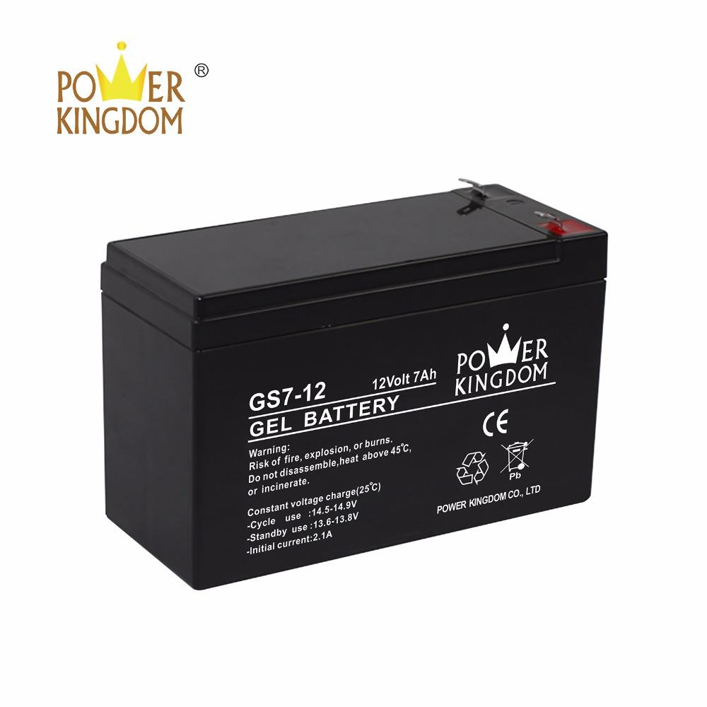 12V7.2AH Gel Solar Rechargeable Battery