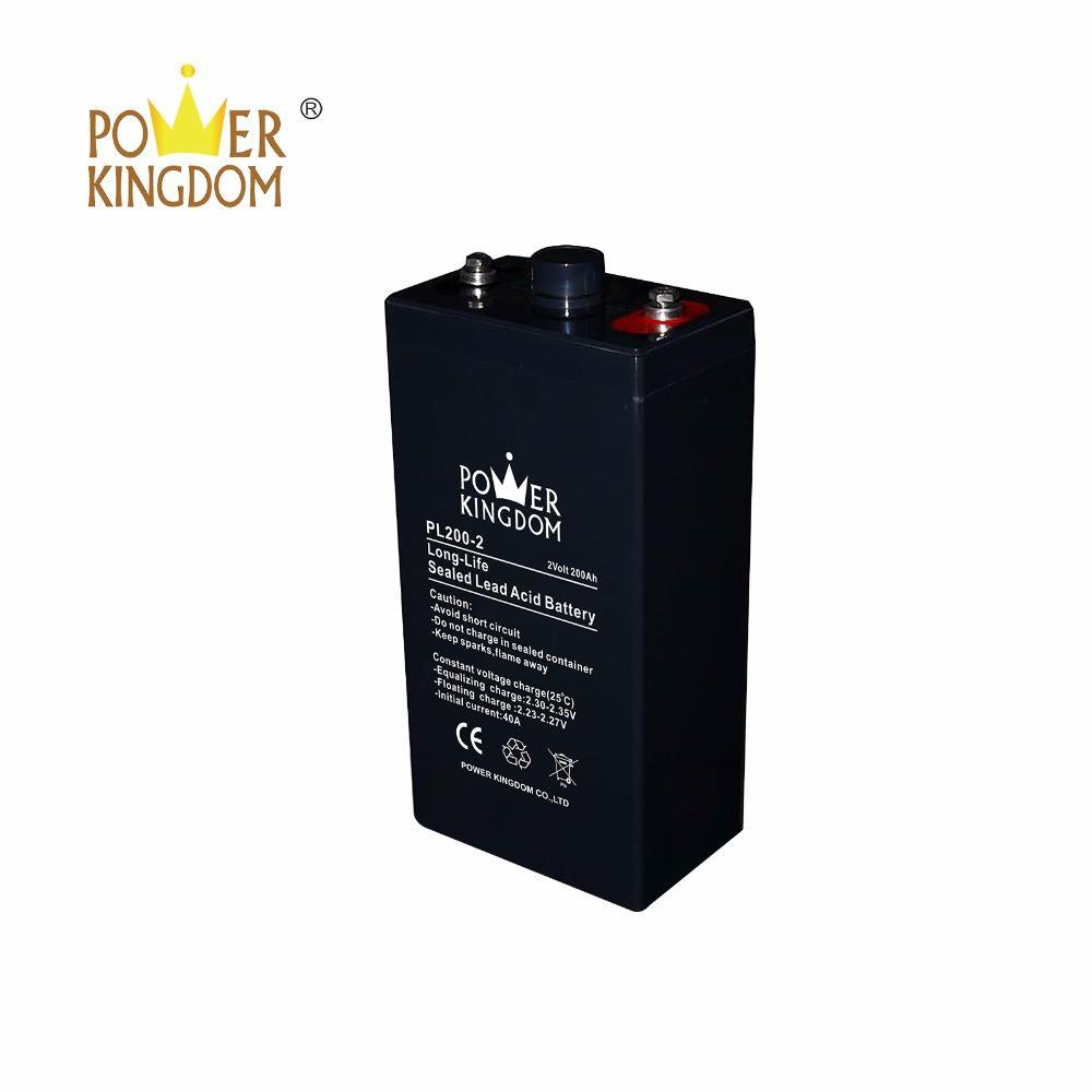 Best price 2v 200ah AGM stationary battery for telecom system