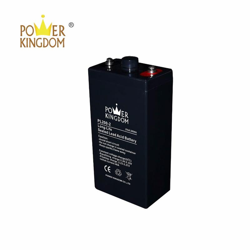 Best price 2v 200ah AGM stationary battery for telecom system