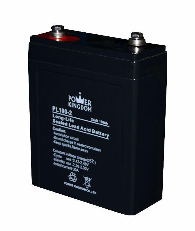 Battery lead acid 2V 100AH long life batteries long life solar battery