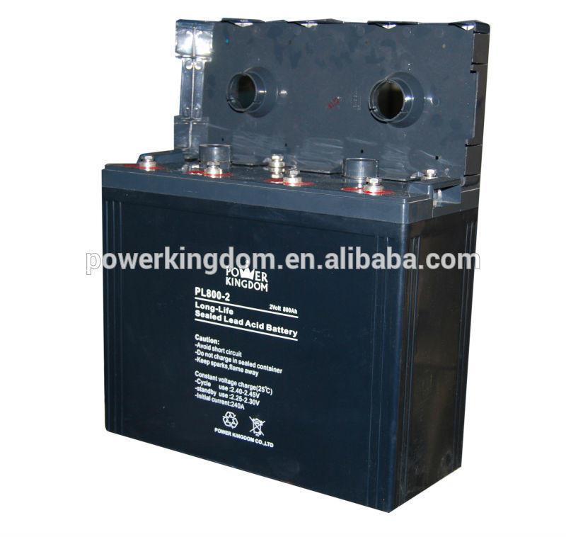 VRLA 2v 800ah lead acid battery for solar system ups