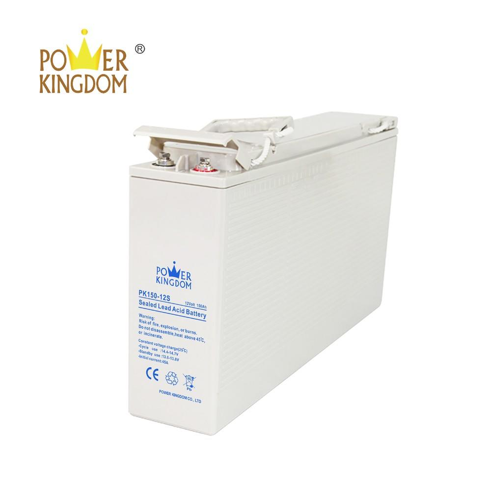 Solar deep cycle gel sealed AGM battery 150AH 12v Front Terminal Batteries