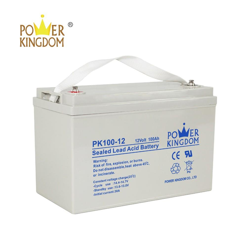 12v 100ah Rechargeable AGM Deep Cycle SLA Battery for solar power system ups system