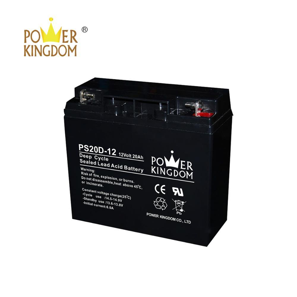 Best quality agm deep cycle battery 12v 20ah
