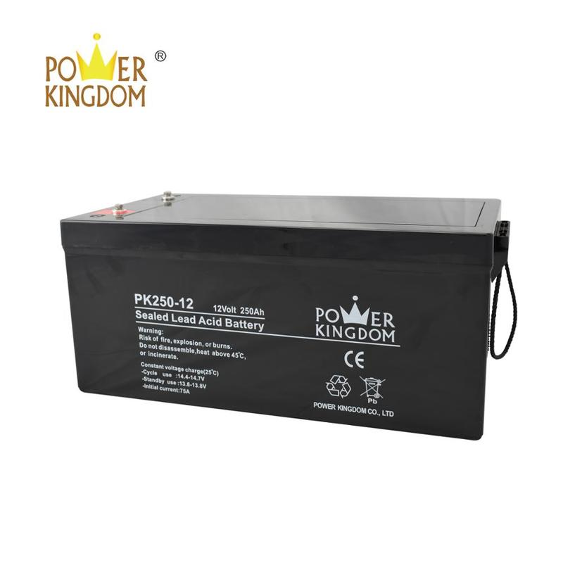 Intelligent Rechargeable 12v 250ah solar batteries