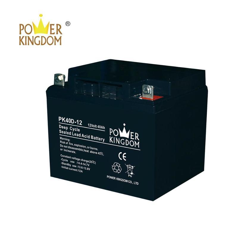 40 ah 12v rechargeable batteries