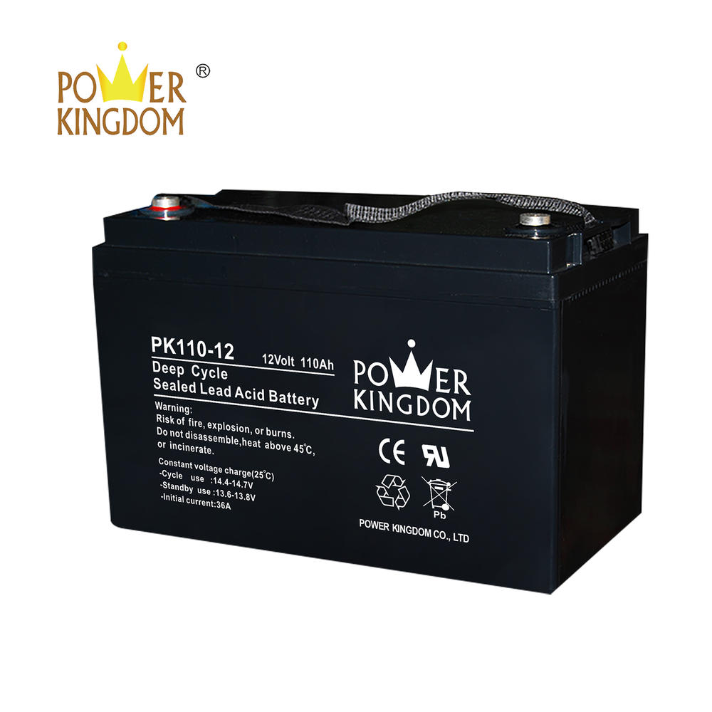 12V deep cycle battery SLA batteries supplier in China