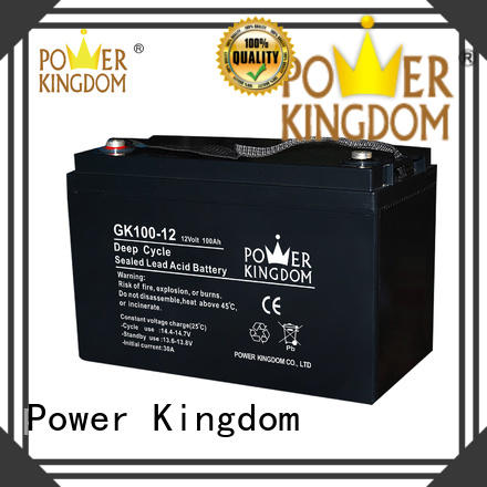 Power Kingdom long standby life ups battery pack factory solor system