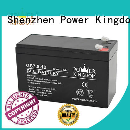 Power Kingdom 12v lead acid battery with good price solor system