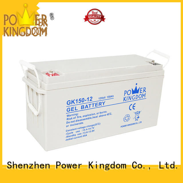 Power Kingdom high consistency 12v lead acid battery inquire now medical equipment