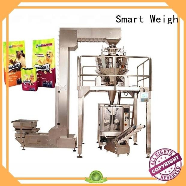 Smart Weigh quadsealed liquid packing machine free quote for food labeling