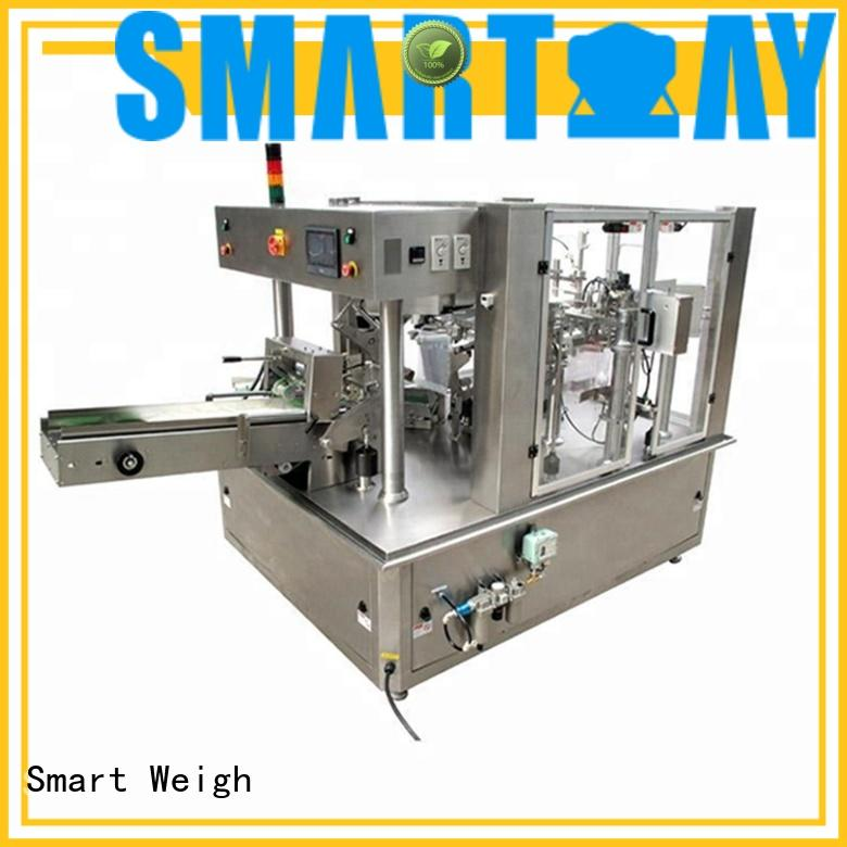 Smart Weigh chocolate automatic pouch packing machine company for food weighing