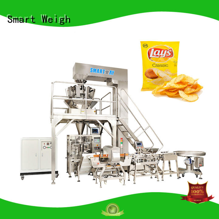 Smart Weigh top vertical bagging machine supply for food packing