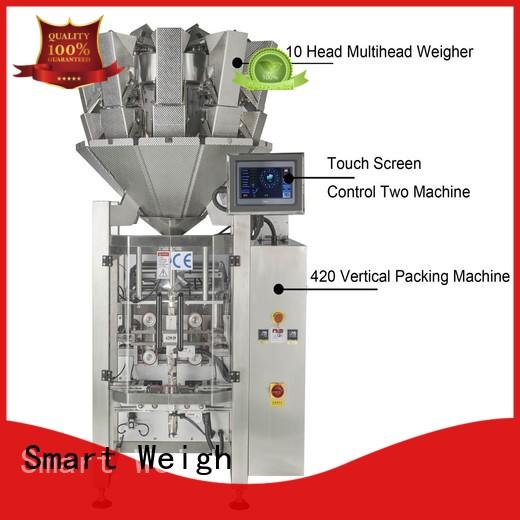 Smart Weigh coffee vertical form fill seal machine manufacturers for frozen food packing